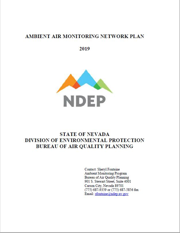 2015 Ambient Air Monitoring Network Plan