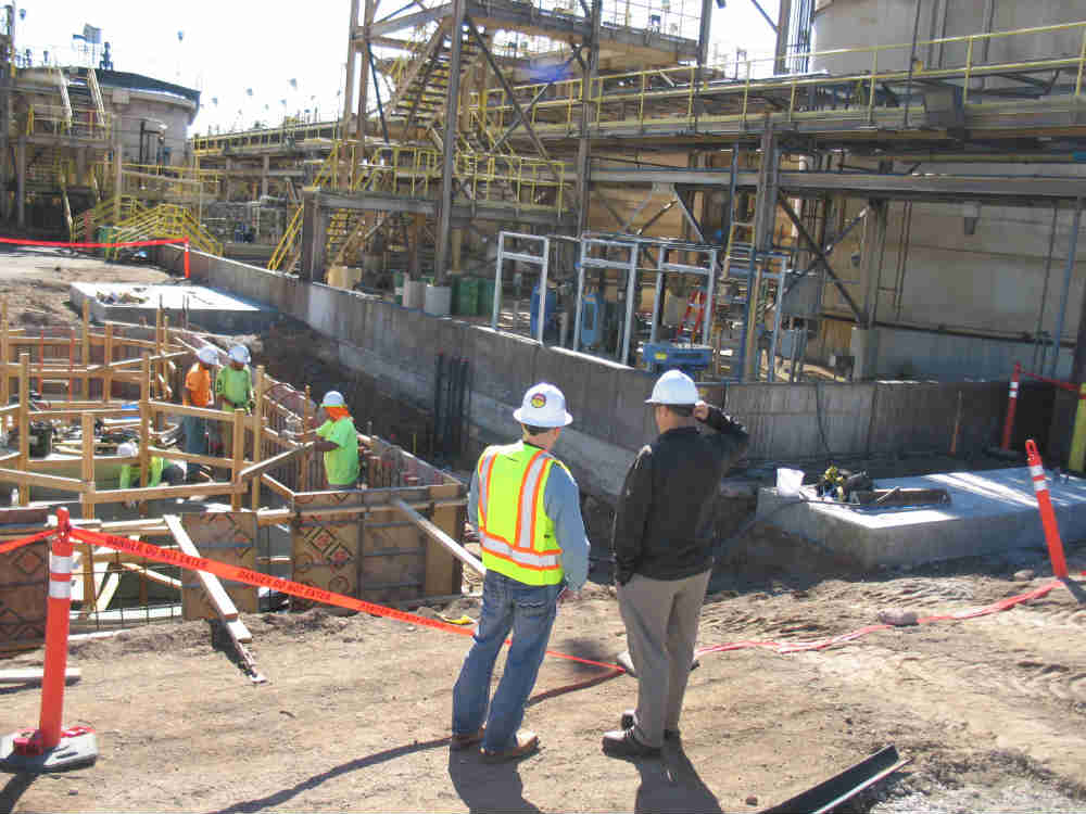 2016 - TIMET construction to upgrade process flow lines.