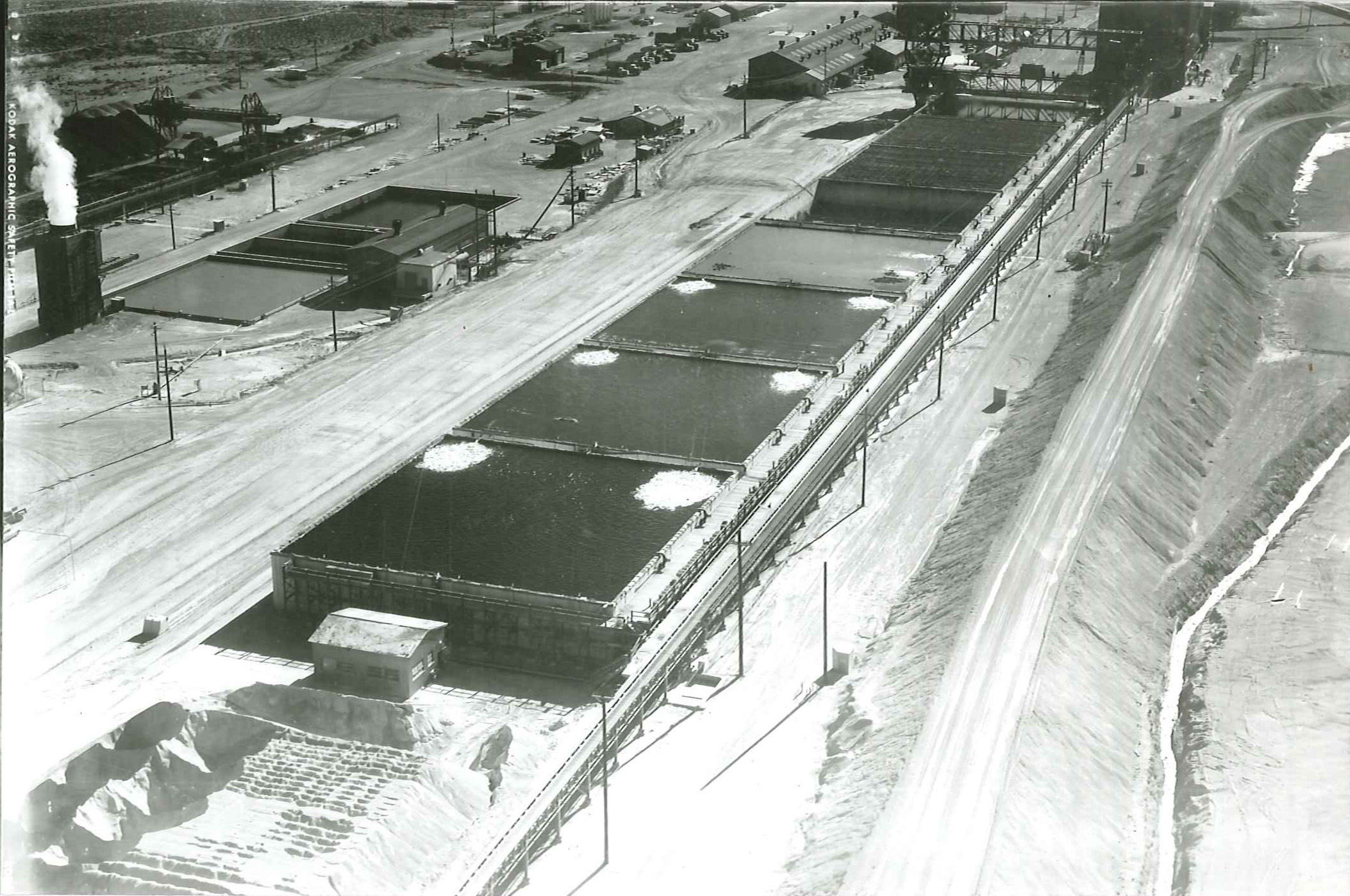 Photo of Process Area circa 1960