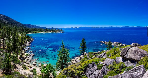 Lake Tahoe Photo Above Sand Harbor